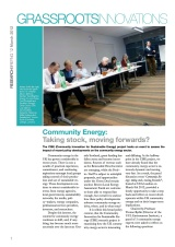GI Briefing 12: Community Energy: Taking stock, moving forwards?