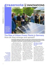 GI briefing 18: The Rise of Citizen Power Plants in Germany