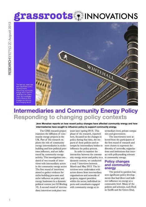 GI 20 CISE intermediaries2 cover